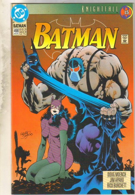 Batman #498 comic book mint 9.8