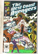 West Coast Avengers volume 2 #11 comic book near mint 9.4