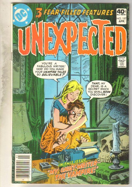 Unexpected #197 comic book fine 6.0