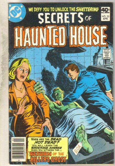 Secrets of Haunted House #23 comic book fine 6.0