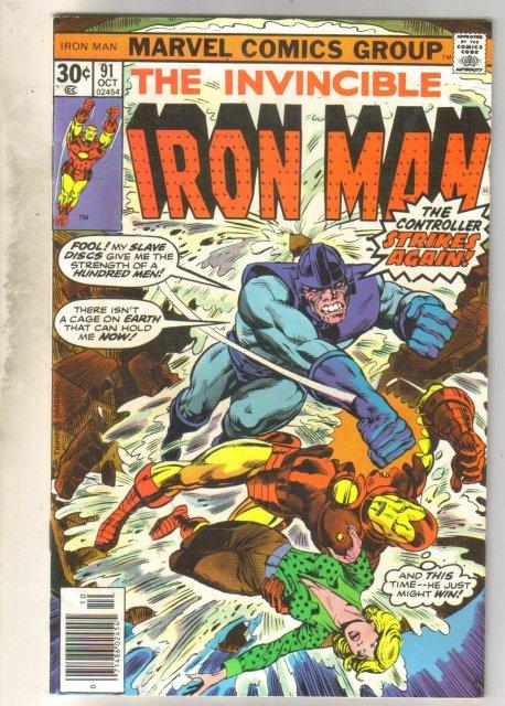 Iron Man #91 comic book fine 6.0