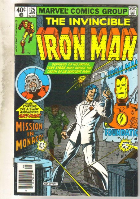Iron Man #125 comic book near mint 9.4
