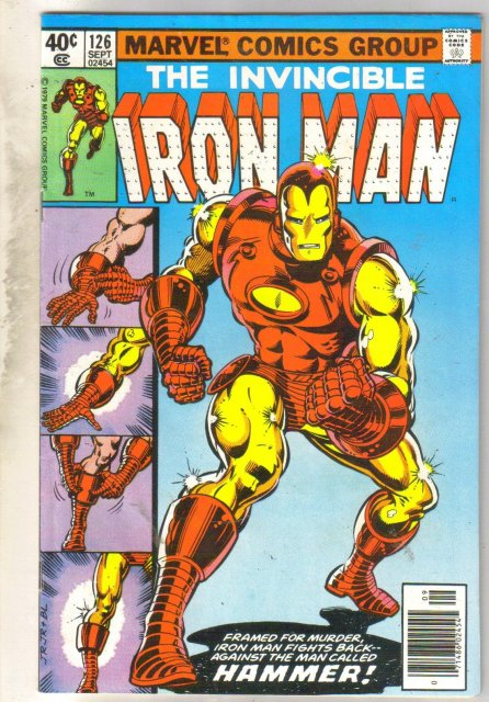 Iron Man #126 comic book near mint 9.4