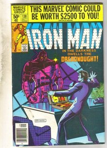Iron Man #138 comic book very fine 8.0