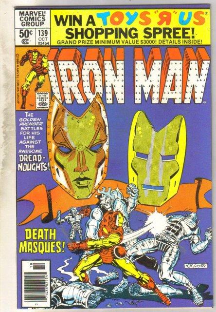 Iron Man #139 comic book near mint 9.4