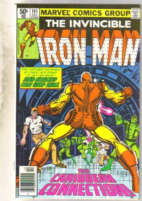 Iron Man #141 comic book mint 9.8
