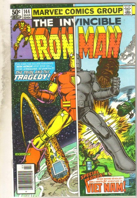 Iron Man #144 comic book fine 6.0