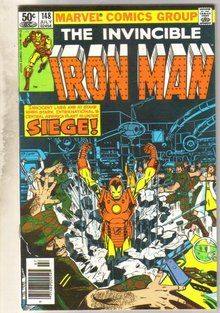 Iron Man #148 comic book near mint 9.4