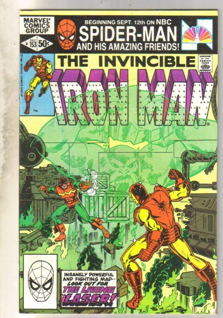 Iron Man #153 comic book fine 6.0