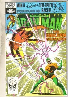 Iron Man #154 comic book near mint 9.4