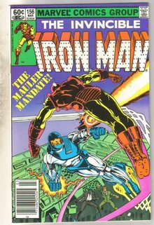 Iron Man #156 comic book near mint 9.4