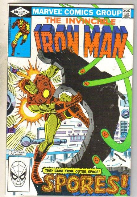 Iron Man #157 comic book near mint 9.4