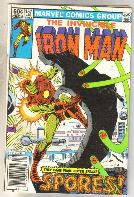 Iron Man #157 comic book fine 6.0