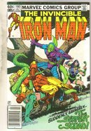 Iron Man #160 comic book near mint 9.4