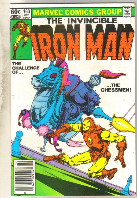Iron Man #163 comic book near mint 9.4