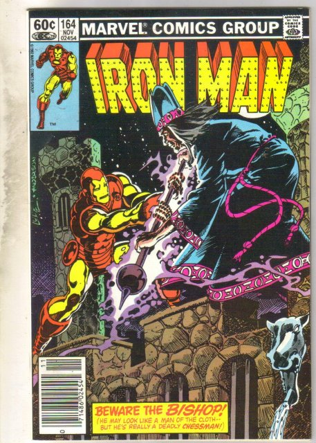 Iron Man #164 comic book near mint 9.4