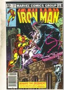 Iron Man #164 comic book near mint 9.4