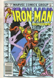 Iron Man #165 comic book near mint 9.4