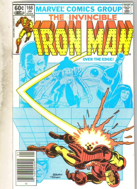 Iron Man #166 comic book near mint 9.4