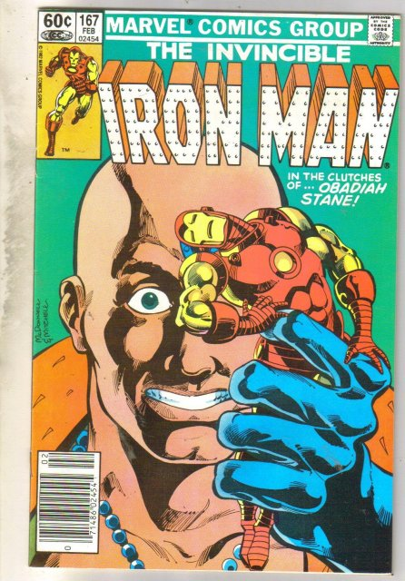 Iron Man #167 comic book very fine 8.0