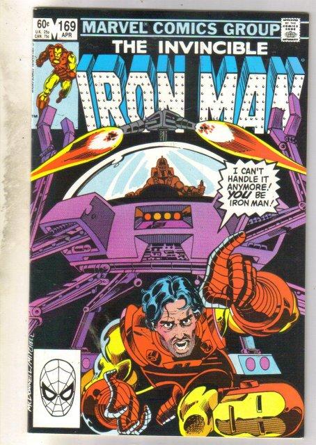 Iron Man #169 comic book very fine 8.0