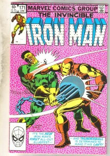 Iron Man #171 comic book near mint 9.4