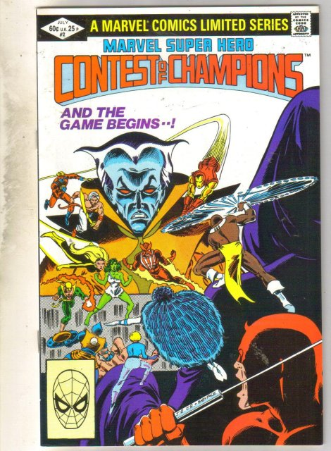 Marvel Super Hero Contest of Champions #2 comic book near mint 9.4