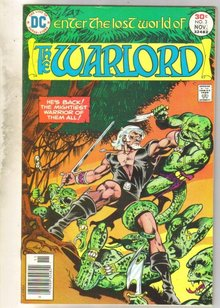 Warlord #3 comic book near mint 9.4