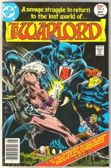 Warlord #6 comic book very fine 8.0