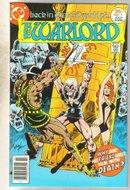 Warlord #7 comic book very fine 8.0