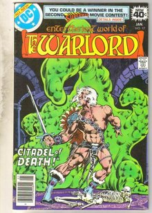 Warlord #17 comic book near mint 9.4
