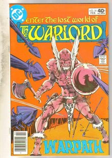 Warlord #30 comic book near mint 9.4