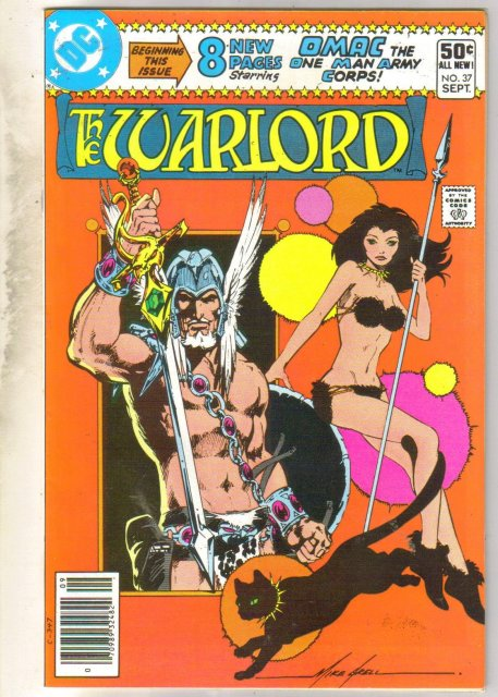 Warlord #37 comic book near mint 9.4