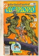 Warlord #46 comic book near mint 9.4