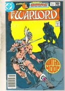 Warlord #47 comic book near mint 9.4