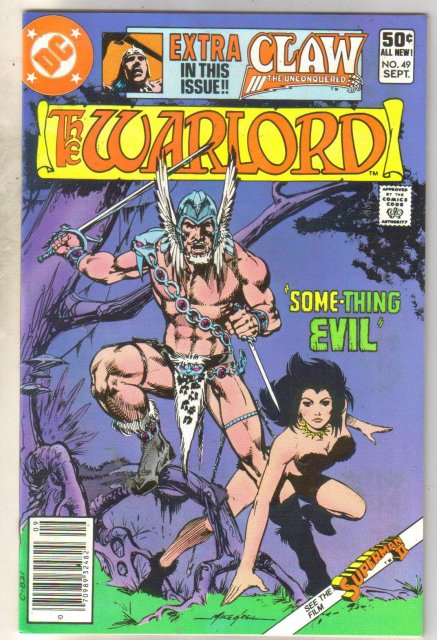 Warlord #49 comic book near mint 9.4