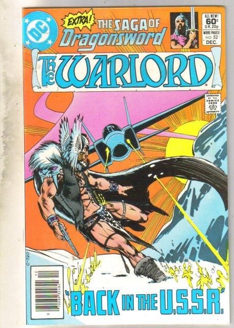 Warlord #52 comic book near mint 9.4