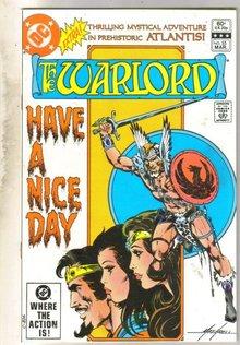 Warlord #55 comic book near mint 9.4