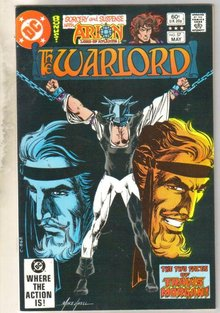 Warlord #57 comic book near mint 9.4