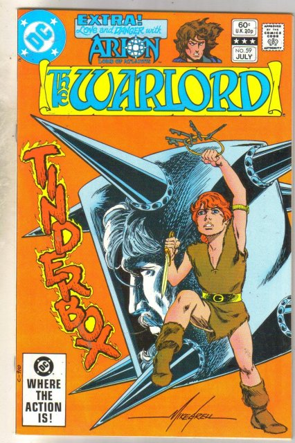 Warlord #59 comic book near mint 9.4
