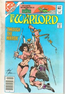 Warlord #65 comic book near mint 9.4