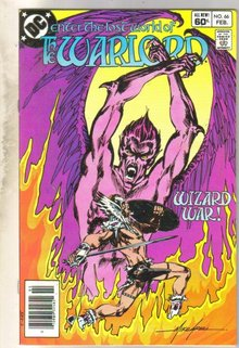 Warlord #66 comic book near mint 9.4