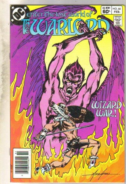 Warlord #66 comic book near mint 9.4