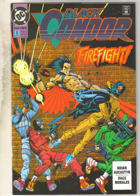 Black Condor #5 comic book near mint 9.4