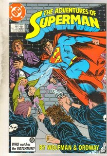 Adventures of Superman #433 comic book near mint 9.4