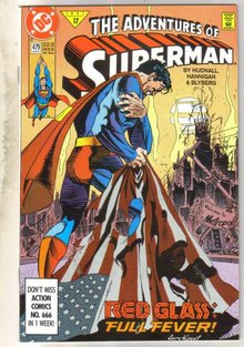 Adventures of Superman #479 comic book near mint 9.4