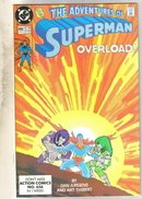 Adventures of Superman #469 comic book near mint 9.4