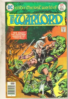 Warlord #3 comic book very good 4.0