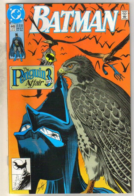 Batman #449 comic book mint 9.8