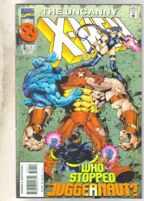 Uncanny X-men #322 comic book very fine 8.0